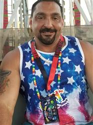 Joe M. verified customer review of Galaxy, Stars & Stripes Men's Tank