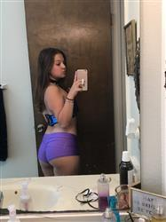 Haley M. verified customer review of Solid Rave Booty Shorts