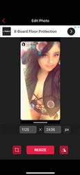 Natalie G. verified customer review of Pastease Glitter Butterfly Pasties