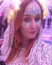 Amanda F. verified customer review of The Gypsy Shrine Unicorn Crown Face Jewels