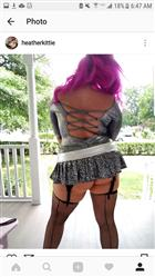 Plus Size Backseam Nylon Fishnet Thigh Highs