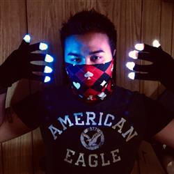 Anonymous verified customer review of Electro V2 LED Glove Set