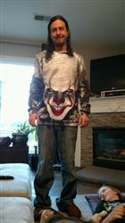 Melissa J. verified customer review of Pennywise Face Sweatshirt