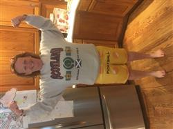 Kelsey B. verified customer review of Pickleball Ball Weekend Shorts