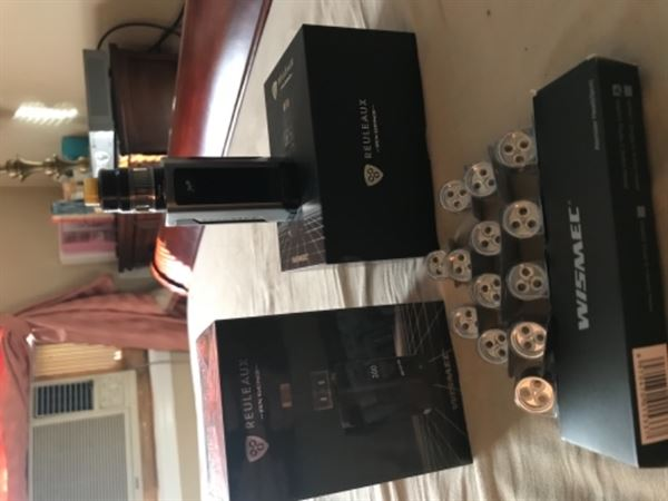 William M. verified customer review of WISMEC WM03 TRIPLE .2OHM COIL HEAD