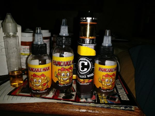 Michael C. verified customer review of PANCAKE MAN E JUICE VAPE BREAKFAST CLASSICS E LIQUID 60ML