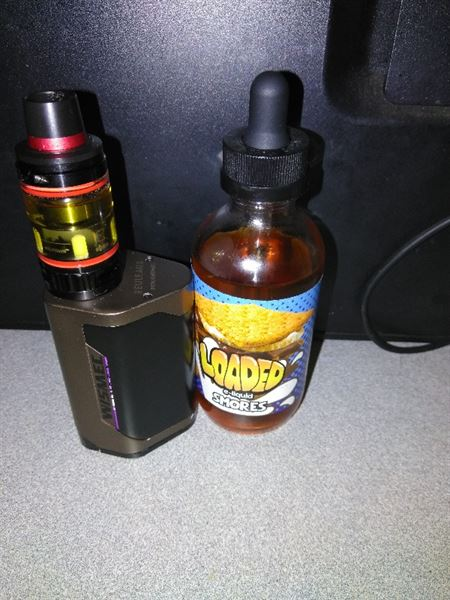 Christopher B. verified customer review of SMORES E JUICE BY LOADED 120ML