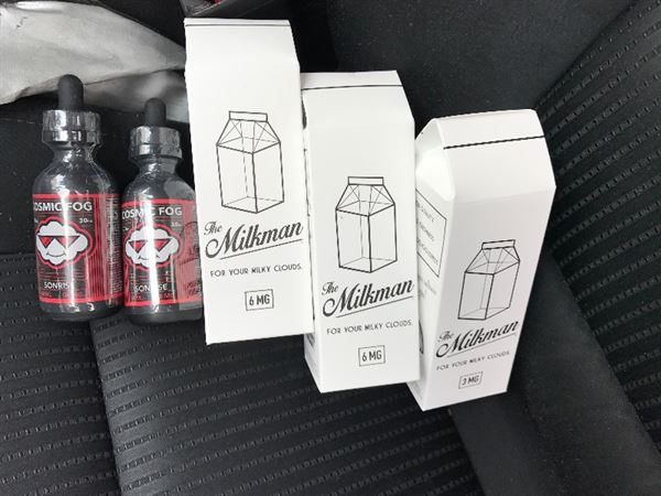 Anonymous verified customer review of THE MILKMAN E JUICE BY THE VAPING RABBIT 120ML