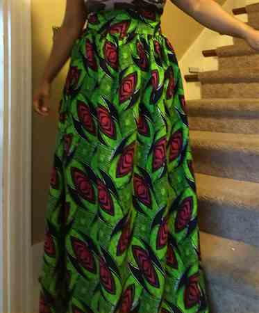 Sasha W. verified customer review of African Print (185166-2)