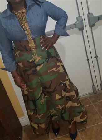 Shernilla C. verified customer review of Camo Print Broadcloth