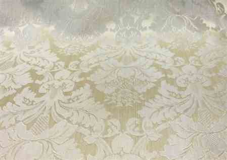 James S. verified customer review of White & Beige Jacquard