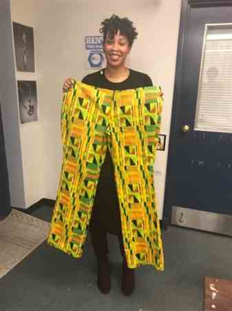 Maria S. verified customer review of Kente African Print (19002-1)