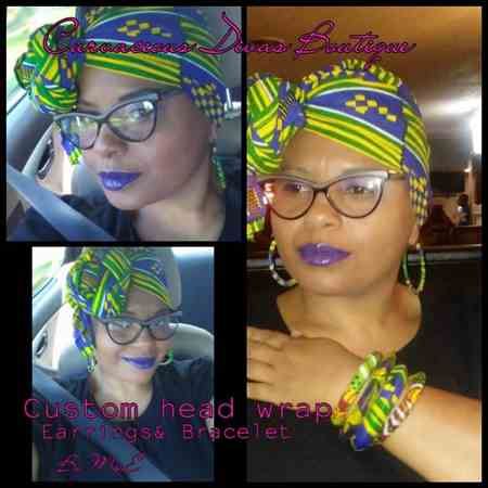 Earlene W. verified customer review of Serpent African Print (90116-3)