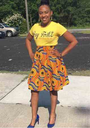 ALICIA B. verified customer review of Kente African Print (19003-1)