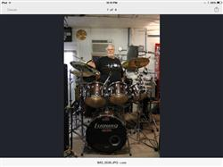 John M. verified customer review of Never Underestimate An Old Man With A Drum Set