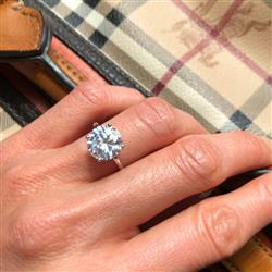 Kami M verified customer review of 5 ct Classic Solitaire Ring - Final Sale