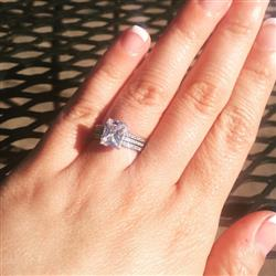2 ctw Radiant Solitaire Ring