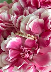 Half Eternity Band- Rose Gold