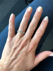Stacy T. verified customer review of Art Deco Half Eternity Band Set