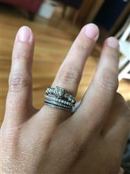 Maggie B. verified customer review of Half Eternity Band