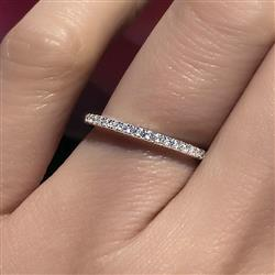 Sharon Pomeroll verified customer review of Half Eternity Band