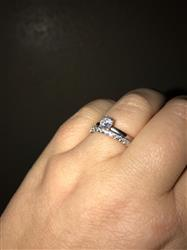 Amanda B. verified customer review of 1/2 ct Solitaire Ring