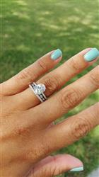 2.25 ctw Oval Accented Ring