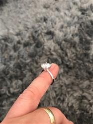 Alvin A. verified customer review of 4 ct Classic Solitaire Ring - Final Sale