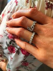 Samantha H verified customer review of .2 ctw Love Cursive Ring