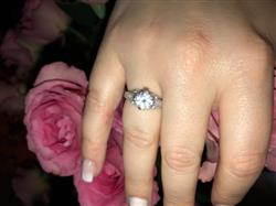 Donna B. verified customer review of 1.5 ctw Vintage Scroll Ring - Final Sale