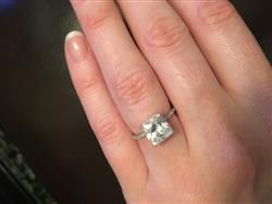 Tracey L. verified customer review of 3 ctw Princess Accented Ring