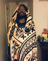 osun l. verified customer review of Polynesian Hooded Blanket