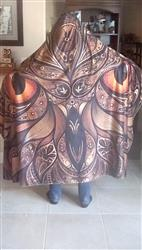 Patricia L. verified customer review of Night Owl Hooded Blanket