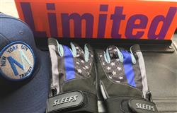 Tactical Thin Blue Line Batting Gloves