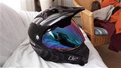 Daniel A. verified customer review of 601 D2 Dual Sport Helmet Face Shield