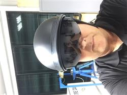 Nathan C. verified customer review of 888FRP Matte Black Bullet Cruiser Half Helmet