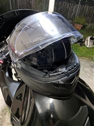 Adam S. verified customer review of 988 Moto-1 Full Face Red and Blue America Helmet