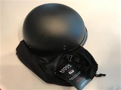 Ken H. verified customer review of 888CF Bullet Cruiser Half Helmet