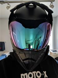 Logan C. verified customer review of 601 D2 Dual Sport Helmet Face Shield