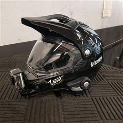 ryan s. verified customer review of 600 Dually Dual Sport Helmet - Matte Red Thunderbolt