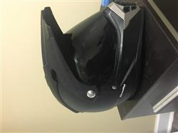 Joshua A. verified customer review of 600 Dually Dual Sport Helmet - Matte Red Thunderbolt