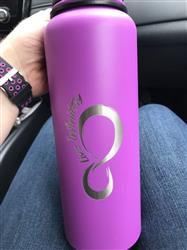 Caitlin W. verified customer review of Vacuum Insulated Water Bottles With Removable Infuser