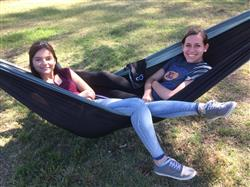 Beth S. verified customer review of Double Camping Hammock With Tree Straps (Original Style)