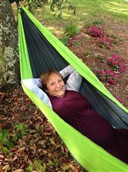Robert D. verified customer review of Double Camping Hammock With Tree Straps (Original Style)