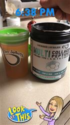 Kayci M. verified customer review of Multi Collagen Protein Powder Type I, II, II, V & X Collagen