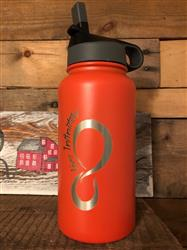 David M. verified customer review of 30 ounce Vacuum Insulated Water Bottle With Fruit Infuser Rod