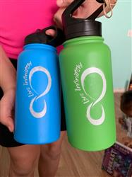 Kristi B. verified customer review of 30 ounce Vacuum Insulated Water Bottle With Fruit Infuser Rod (White Logo)