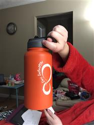 Aaron Whitley verified customer review of 30 ounce Vacuum Insulated Water Bottle With Fruit Infuser Rod (White Logo)