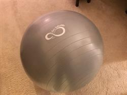Harriet M. verified customer review of Professional Grade Anti-Burst Exercise Ball