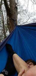 Nathan C. verified customer review of Double Lightweight Camping Hammock & Tree Straps